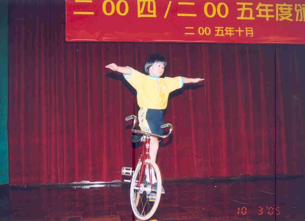 单车花式表演